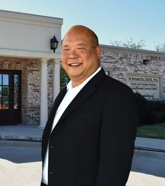A picture of H. Peter Ku, D.D.S. PA in front of his practice