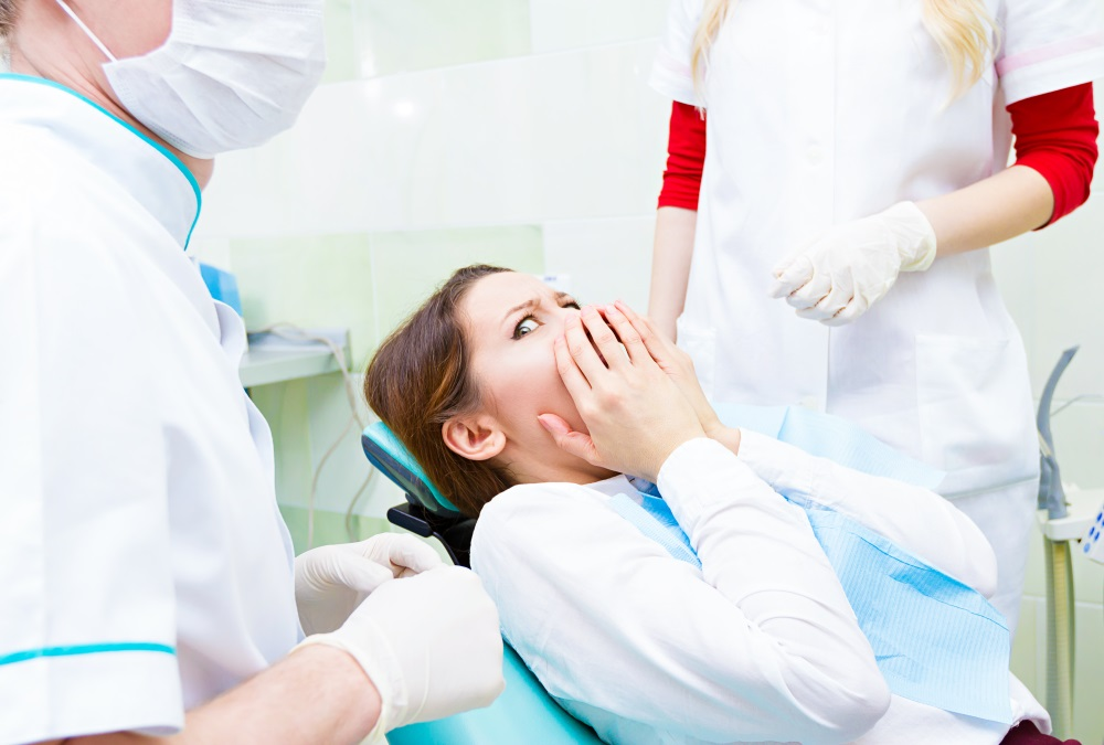 Latex gloves in dental care