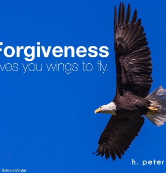 Forgiveness gives you wings to fly
