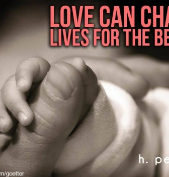 Love can change lives for the better